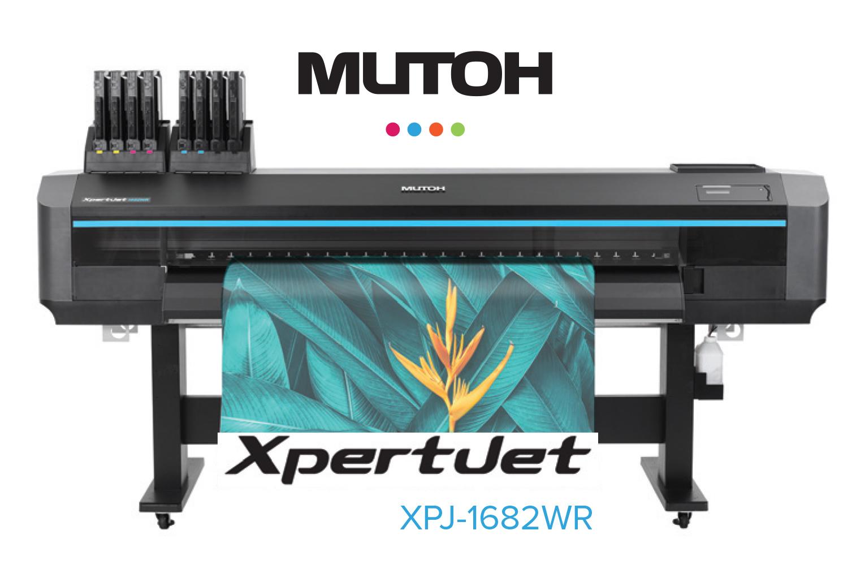 E' arrivata la nuova Mutoh XPJ-1682 WR