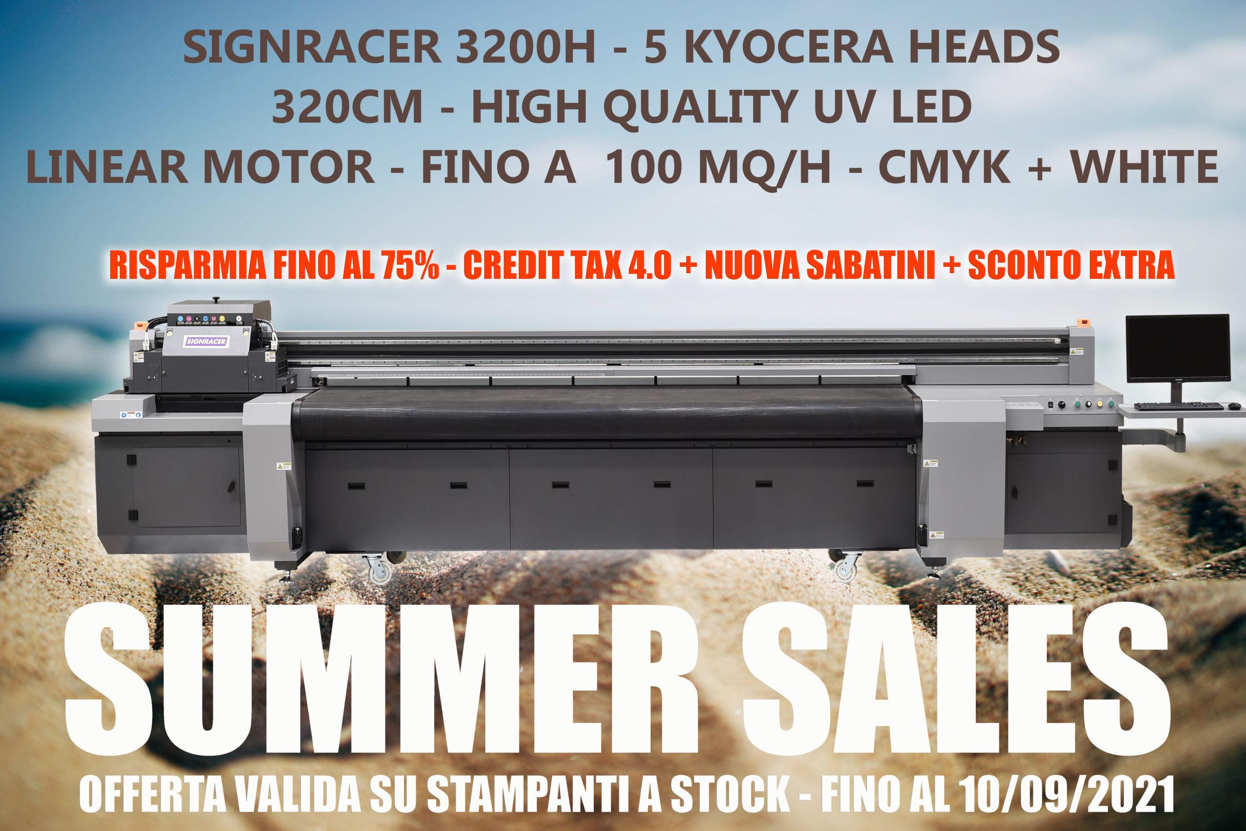 SUMMER SALES – 75% DI RISPARMIO SU SIGNRACER 3200 Hybrid Kyocera